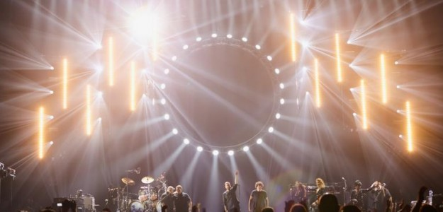 Resultado de imagen de Pink floyd lights show on the wall tour