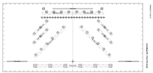 Pin light stage plot template on pinterest for Stage plot template