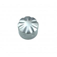 Encoder Knob, Silver Fluted - Small (22mm)