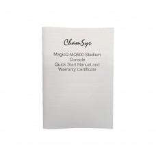 MagicQ MQ500 Stadium Console Quick Start Manual